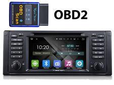 Autoradio+ OBD2 ANDROID 5.1.1 E39 5er BMW Wifi 3G DAB Freisprechanlage DVD WiFi