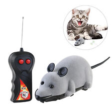 Wireless Remote Control Mini Simulaton Plush Mouse Rat Mice Chase Cat Dog Toy
