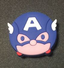 Captain AMERICA Croc shoe Charm Jibbitz Jewelry Fun