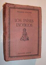 LOS PAÍSES EXÓTICOS. Tomo 3. Nos. 1 al 20. COLECCIÓN UNIVERSO. 1970.