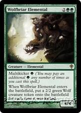 WOLFBRIAR ELEMENTAL Worldwake MTG Green Creature — Elemental RARE
