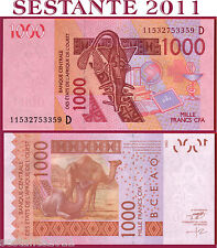 WEST AFRICAN STATES -  MALI  - 1000 1.000 FRANCS 2003 (2011) -  P 415D - FDS/UNC