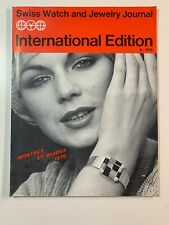 Vintage International Watch and Jewellery Magazines Swiss Watch 1976
