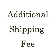 Additional Postage Shipping Fee