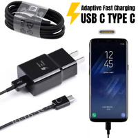 Type-C Cable Fast Wall Car Charger For OEM SAMSUNG Galaxy S8 S9 S10 Plus Note10