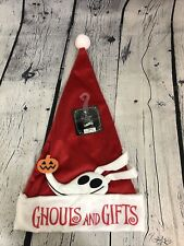 Nightmare Before Christmas Zero Ghost Dog Santa Hat Ghouls And Gifts NBC NWT