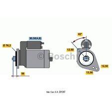 Anlasser, Starter BOSCH 0 001 123 012