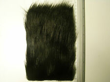 Black Fox Medium Pile Craft Fur, Fly Tying Material