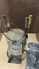 Antique Primitive Soldering Iron Stove Portable Tinsmith Charcoal Stove