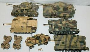ULTIMATE SOLDIER~UNIMAX~FORCES VALOR~WWII GERMAN MILITARY TANK VEHICLE LOT~1/32