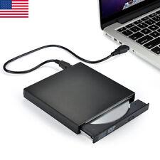 2.0 External Portable Dvd Combo Player Cd-Rw Burner Drive Usb 2 for Windows Xp 7