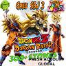 Dokkan - NEW Goku + Bardack SSj3 INT+ Goku SSj3 LR  300+ Stones - Fresh Global