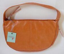 Hobo International Corey Hobo Bag Tangerine Orange Leather NWT