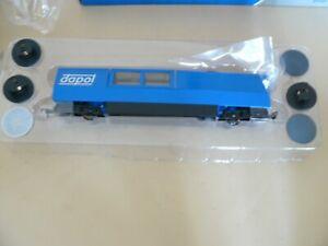 DAPOL B800 00 GAUGE TRACK CLEANER BLUE NEW MINT [UK COUPLINGS]