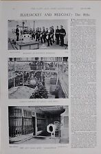 1897 BOER WAR MARINES EXERCISE COASTGUARDMEN SMALL ARM DRILL ARM RACK