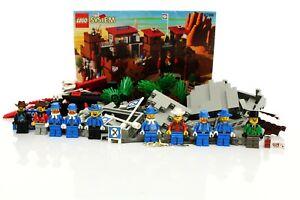 Lego Western Cowboys Set 6769 Fort Legoredo 100% complete + instructions 1996