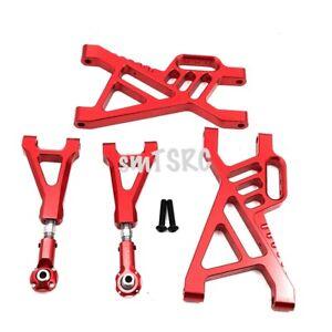 Alloy CNC Rear Suspension Arm Set For 1/5 RC Car HPI Rovan baja 5B 5T 5SC
