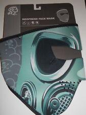 Zan Headgear Máscara de Gas Máscara Facial Completa De Neopreno Motorista Moto O Snowboard