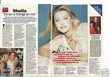 Coupure de presse Clipping 1996 Sheila  (3 pages)