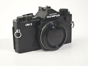 Olympus OM-3 Body - black - fully working, - exc++