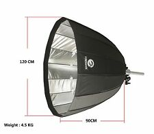 CONONMARK 120CM Reflective Parabolic Softbox with Bowens/Comet Mount