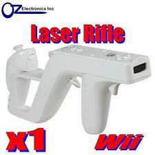 White Zapper Gun Rifle for Nintendo Wii Shooting Games Call Of Duty NEW