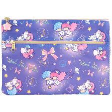 2016 Sanrio Little Twin Stars Cosmetic Bag Multipurpose Pouch pencil case ~ NEW