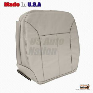 2007 2008 2009 Mercedes Benz GL500 GL550 Driver Bottom Vinyl Seat Cover In Gray
