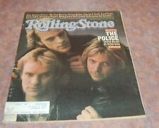 Feb 18 1981 issue of Rolling Stone The Police Cover Sting
