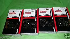 "4 Pack Oregon 20"" Chainsaw Chain 72LGX072G 3/8 050 72 Drive Link 33 RS 72 33RSC"