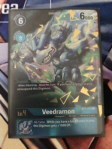Digimon TCG Veedramon Alternative Art BT1-115 SEC