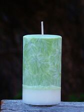 200hr VETIVER BASIL Earthy CANDLE with Natural Plant Extracts & Essential Oils