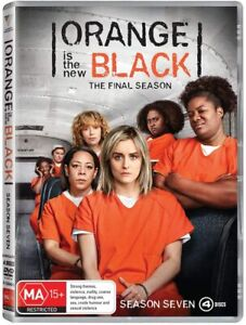BRAND NEW Orange Is The New Black - Season 7 (DVD, 2020) Final Series Seven