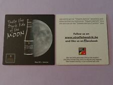 Beer Coaster <> Straffe Hendrik De Halve Maan <> Taste the Dark Side of the MOON