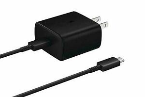 Original Samsung S20/S20Ultra/Note10s/s10/s9 45W Super Fast Charger+Type-C/Cable