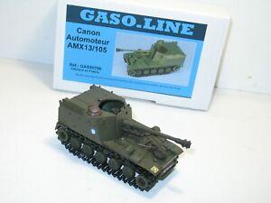 SOLIDO Char AMX 13 canon automoteur 105 mm militaire gaso line