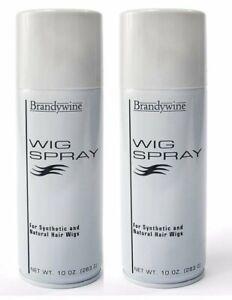 Brandywine Wig Spray, Aerosol, 10 Ounce (2-Pack)  Free Shipping Wig Brush