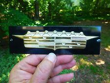 """1956 Cadillac Gold Emblem badge  6""""  and Mounted"""