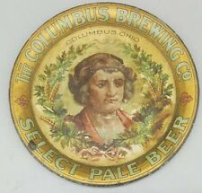 Columbus Brewing Co TIP TRAY Pre Prohibition Ohio Beer Brewery 1900s Antique