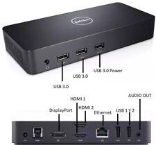 Dell Ultra HD D3100 USB 3.0 Station D'Accueil Réplicateur de Port HDMI Inspiron
