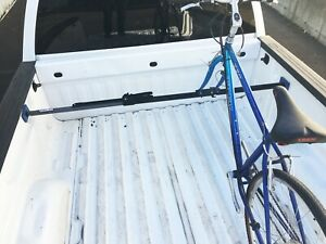 HitchMate Truck Bed Cargo Stabilizer Bar Full Size and Bike Rack Fork Mount