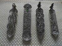 Porte encens accessoire de parfum métal ou bois couleur bois bruleurs d'encens