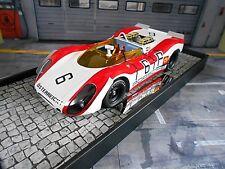 Porsche 908/02 Spyder nurburgring #6 Attwood lins 1000km 1969 Minichamps s 1:18