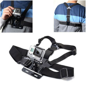 Body Chest Strap Harness For GoPro Mount Support GoPro Hero Sports Action Camera