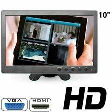 MONITOR 10.1 POLLICI LCD HDMI VGA FULL HD BNC PER AUTO PER VIDEOSORVEGLIANZA DSI