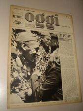 OGGI=1945/12=RUSSIA SOLDIERS=ANDRE MALRAUX HENRI MICHAUX=ERSKINE CALDWELL=