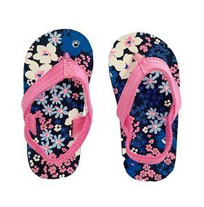 Carter's Floral Flip Flops For Kids