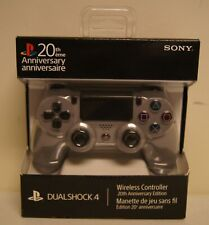 Sony Playstation 4 Dual Shock 4 Wireless PS4 Controller 20th Anniversary Edition