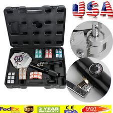 Hydraulic Hose Crimper Crimping Tool Kit Manual Air Conditioner Car Repair Fix