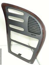 01 03 Olds Oldsmobile Aurora Center Dash Radio Heater Info Trim Bezel Wood Grain